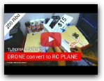 TUTORIAL : How to make RC plane from DRONE