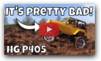 The Worst RC Crawler? HG P405 RC Car review. Awesome Jeep Hardbody