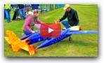 AMAZING FUTURISTIC RC PLANE AIRRACER & PONDRACER & FLIGHT DEMONSTRATION