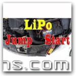 Jump-Starting my car with a LiPo Hobby Battery!!!