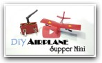 How to make a Airplane RC Supper Mini