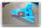 [Tutorial] DIY - How To Make airplane vesion paper plane vs f22 raptor RC