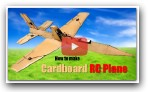 How to Make RC Airplane from Cardboard