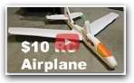 $10 Foam RC Airplane