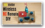 How to make long distance rc transmitter wireless remote for remote control car/boat/plane|part-1