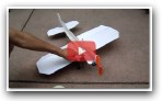 How to make a crash-proof 3D foam RC plane