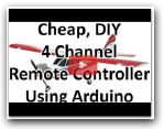 DIY RC Plane Transmitter – Receiver Using Arduino Demo