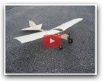 Chickadee Indoor Electric RC Airplane Plan