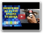 Homemade RC plane engine starter