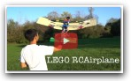 RC Flying Lego Airplane