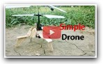 Simple Drone Make at Home that can fly