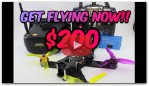Get FPV DRONE RACING for ONLY $200!!