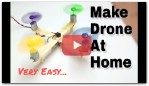 How To Make Drone At Home (Quadcopter) Easy