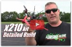 Detailed Build (1/2): X210 2600kv 30amp Racing Drone Kit