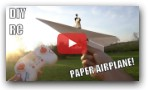 RC Paper Airplane How to Make