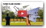 How to make a Rc plane at home !