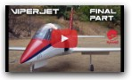 VIPERJET MK2 RC airplane build video, Part 2 FINAL