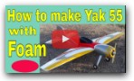 How To Make RC Plane At Home Easily Yak 55