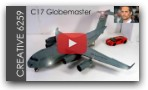 How To Make A Plane (C17 GLOBEMASTER) - DIY Cardboard - Tribute To PAUL WALKER And AIRFORCE