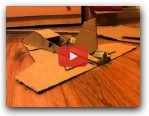 Home made cardboard rc plane