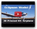Eclipson Model Z 3D Printed RC Airplane