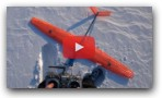 How to land 3D printed plane in snow
