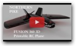 Northern Pike - Fusion 360 3D Printed RC Plane Design