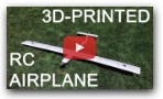 3D-Printed RC Airplane (UIUC AIAA Tech Project)
