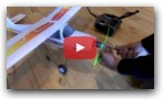 Testing a 3D printed propeller on an RC airplane