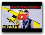 How To Make RC Plane Full Detail