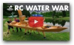 Largest RC Battleship VS RC Dive Bombers!
