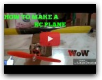 HOW TO MAKE A RC PLANE BY USING CARD BOARD AT HOME EASILY