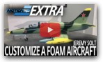 Customize A Foam RC Aircraft with Jeremy Solt - Motion RC Extra