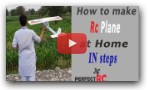 How to make Rc plane or glider at home | perfect Rc | Pakistan