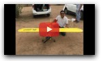 Large RC Plane Build Video Piper Cub DIY Ply Model Students Professionals