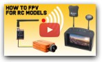 How To FPV Camera System For RC Models. With Run Cam II camera and EV800D Goggles