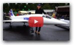 Incredible 33 Foot Length RC Airplane 4x Turbine
