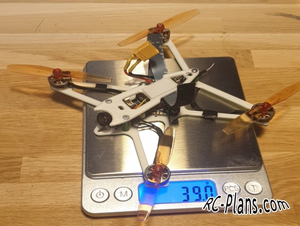 Free plans for rc quadcopter 3DHawk Freestyle