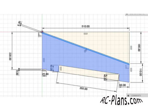 Free plans for 3D printed rc airplane Cancard