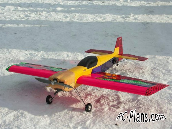 Free plans for balsa rc airplane Diablotin Compact