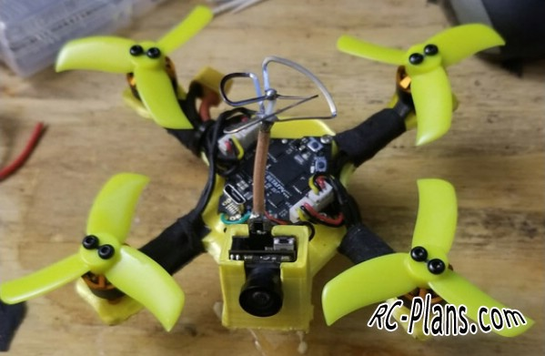 free plans tiny whoop drone BumbleBee 2S