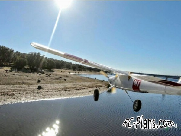 Free version of the 3D printed RC airplane Eclipson Model T