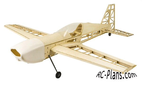 Balsa rc airplane Hobby DW EXTRA 330