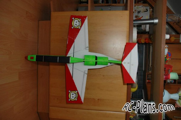 Free plans for rc airplane FanTraner