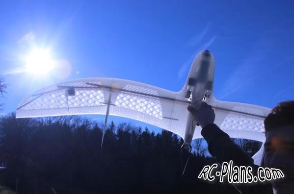 Free plans 3d printed rc airplane Fulmar P05