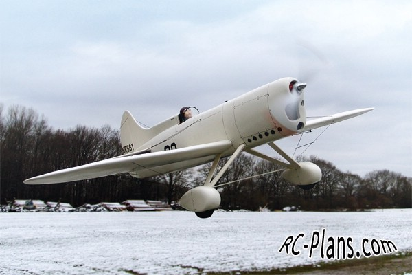 Free plans for foam rc airplane Howard DGA-4
