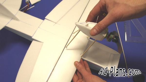 Free plans for foam rc airplane Jupiter Shrimp