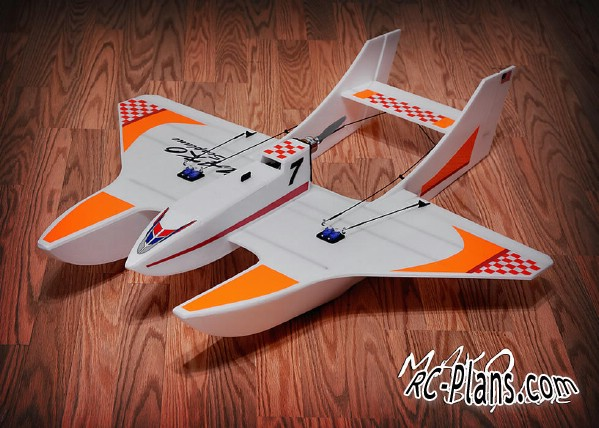 download free plans rc airplane Mako Sea Plane
