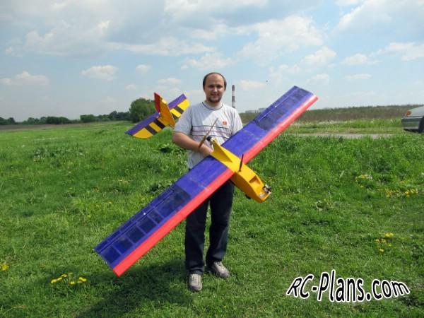 Free plans for rc airplane NAV-8 Supervisor-2