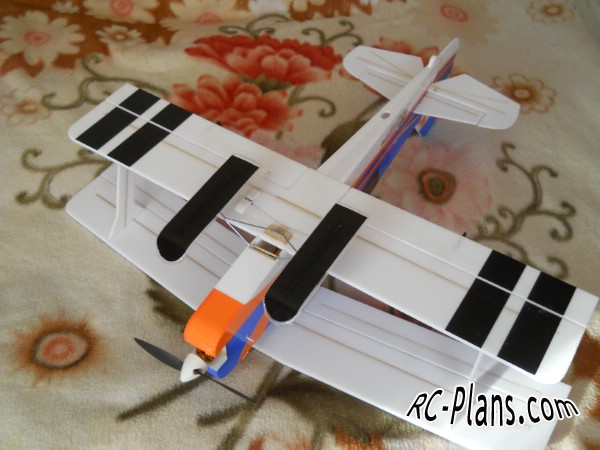free plans rc airplane Pitts Python